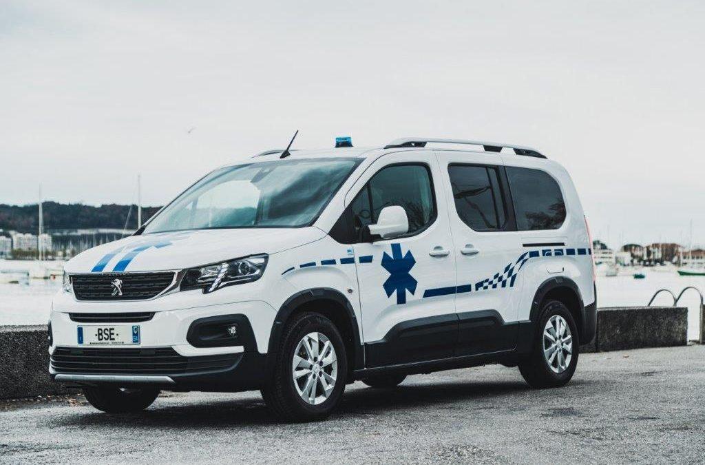 Nouveauté BSE : Peugeot Rifter Ambulance A1