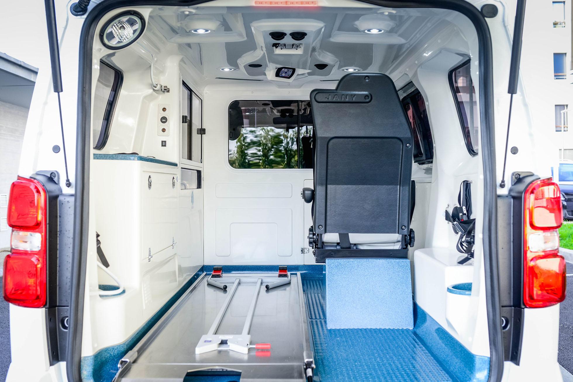 ambulance Citroën Jumpy