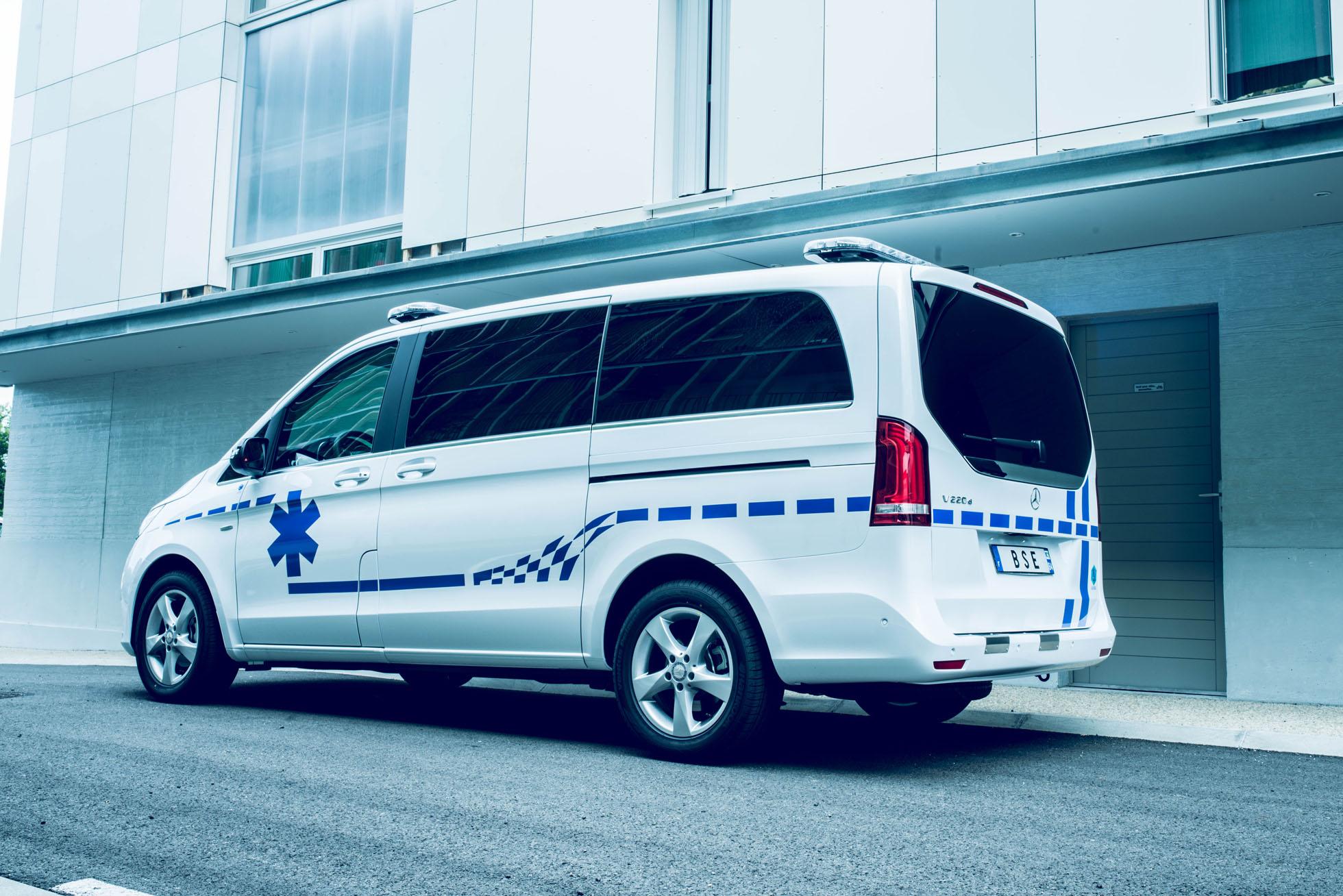 ambulance mercedes classe V
