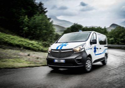 ambulance Opel Vivaro