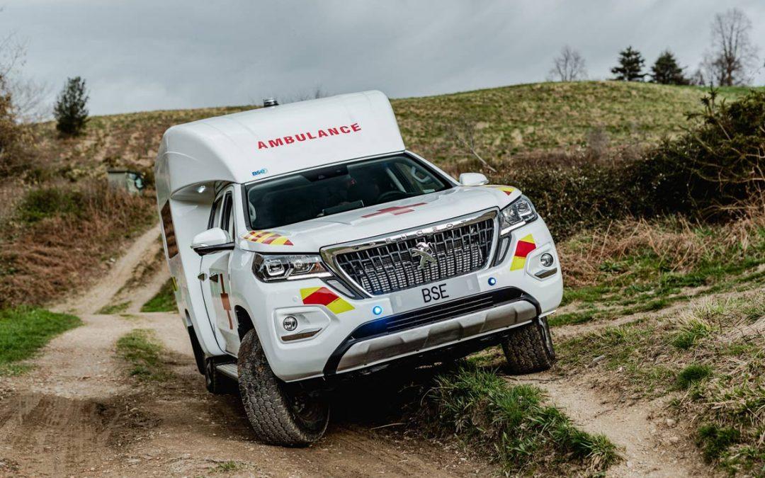 Peugeot Landtrek 4×4 : une nouvelle ambulance inédite pour le marché africain.
