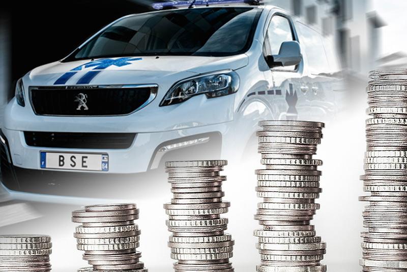combien coûte une ambulance neuve ?
