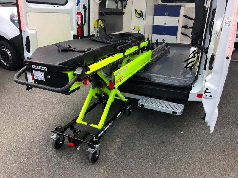 Livraison d'une ambulance bariatrique Renault Master